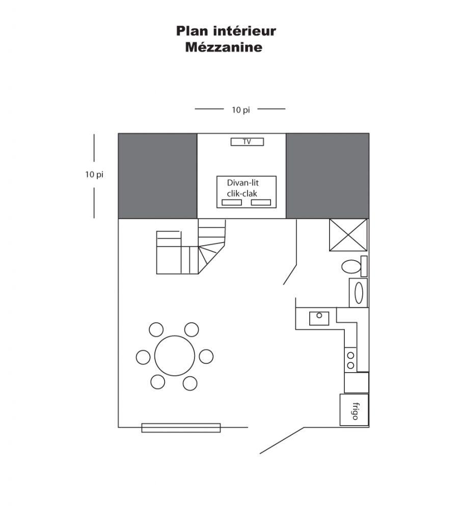 plan chalet intérieur copie